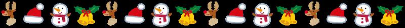 無料素材 ライン クリスマス6