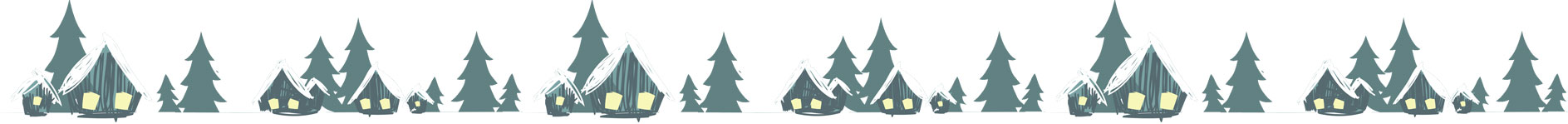 無料素材 雪景色 ライン