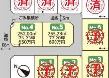 矢吹町八幡町区画図2020.9.20