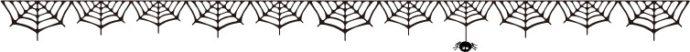 クモの巣3 ライン