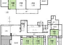 中田和知邸1F2F間取り図
